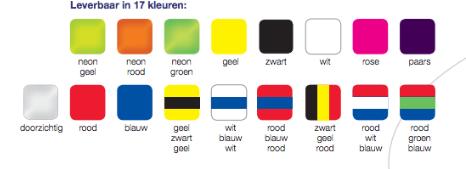 Kleuren mondbeschermer